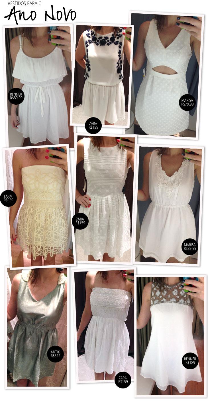 Vestidos Brancos Para O Ano Novo Coisas De Diva