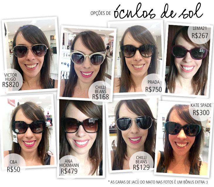 ff2c09dd518cb Primeira coisa que reparei foi, rapaz, como os óculos estão caros! Existem  modelos mais em conta nas redes de fast fashion como C A e Renner, ...
