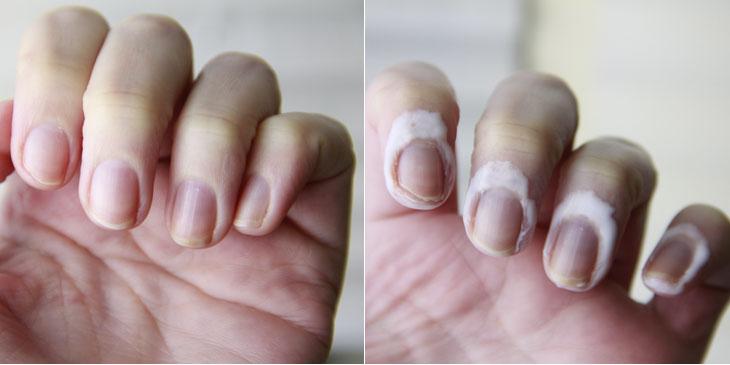 Resultado de imagem para cola branca nas unhas
