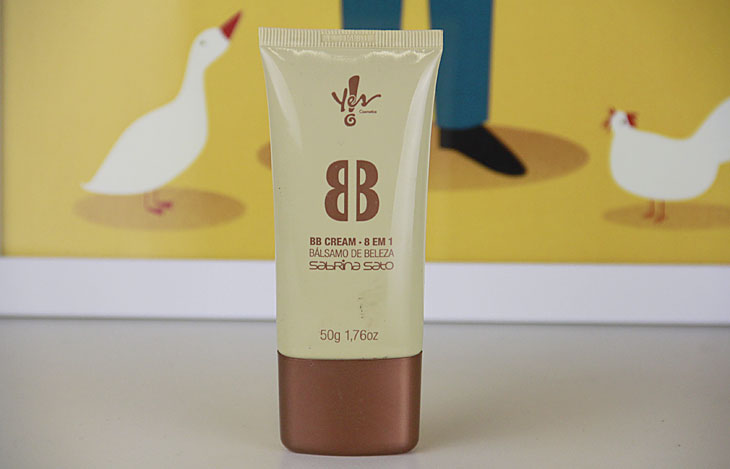 pele oleosa BB Cream Yes! Cosmetics