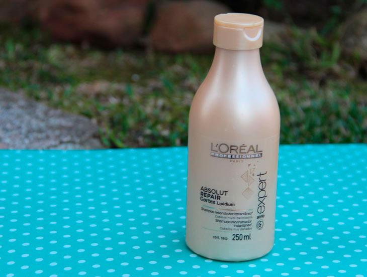 shampoo l'oréal absolut repair cortex lipidium