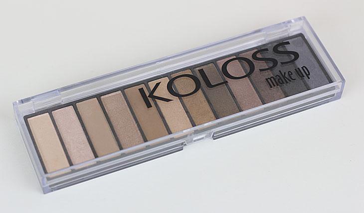 Koloss Paleta de Sombras Powerful N.2: inspiração da Naked