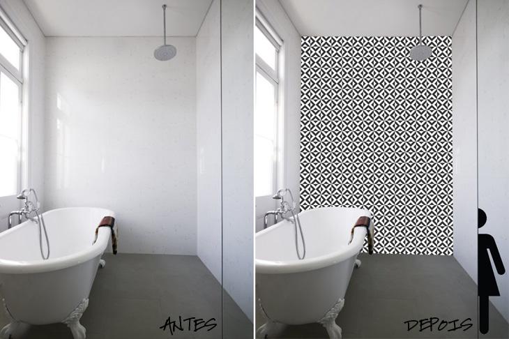 papéis de parede Archives  Coisas De Diva  Resenhas de cosméticos, maquiage -> Banheiro Apartamento Decorado Adesivo