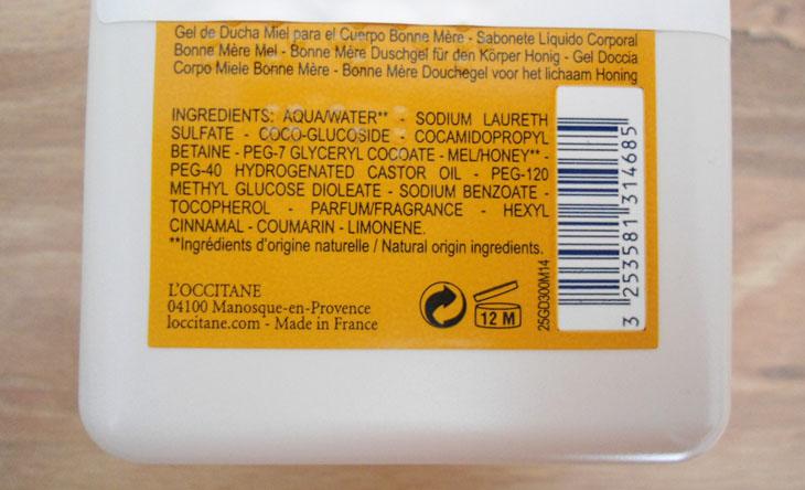 fórmula sabonete líquido bonne mére au miel