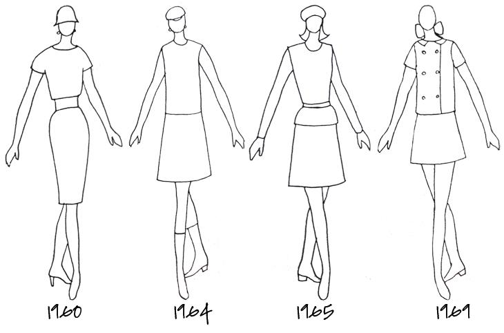 roupas anos 60 tudo sobre o estilo da época