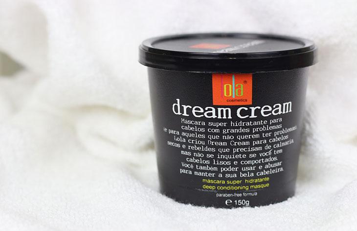 Resenha Máscara hidratante capilar Dream Cream Lola Cosméticos