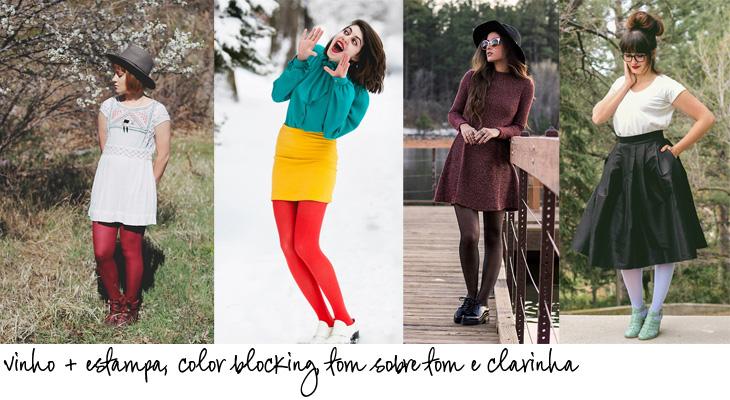 meias calças coloridas