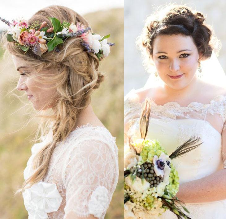 Favoritos Penteados para noivas: os 101 mais maravilhosos! FF63