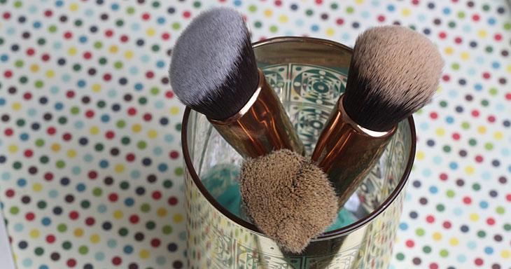 Novos pincéis de maquiagem The Beauty Box