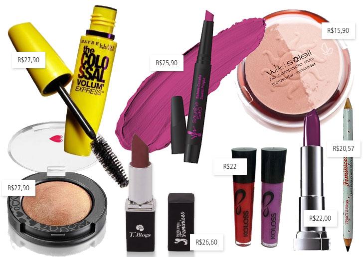Maquiagem barata: top 30 de até R$30 testados e aprovados