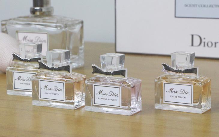 b593b0134 E também porque, agora, eis o que achei de cada um dos perfuminhos: Miss  Dior