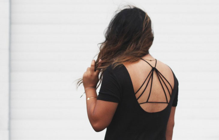 Como usar strappy bra