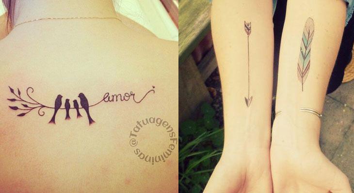 Extremamente Moda e Beleza • Tatuagem feminina: 220 fotos para inspirar! ZF86
