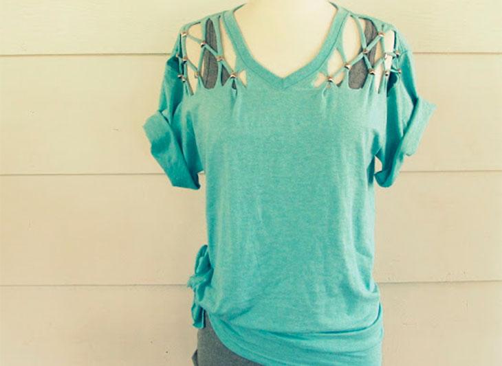 d162b672fa Camisetas Customizadas  os 100 modelos mais bonitos para fazer em casa