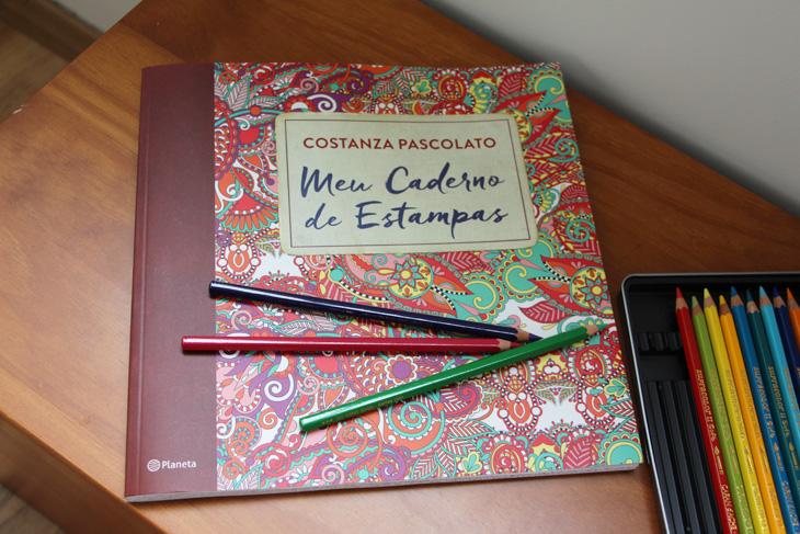Meu Caderno De Estampas Novo Livro De Colorir