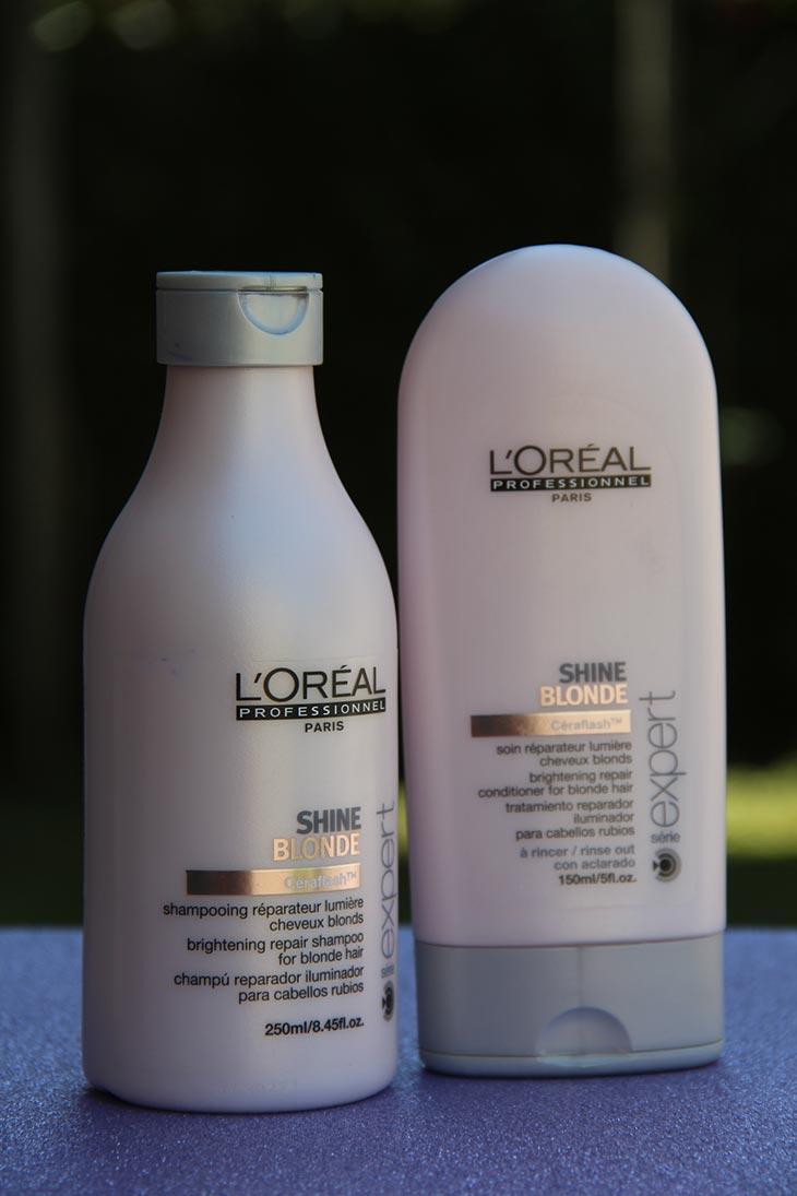 shampoo e condicionador shine blonde