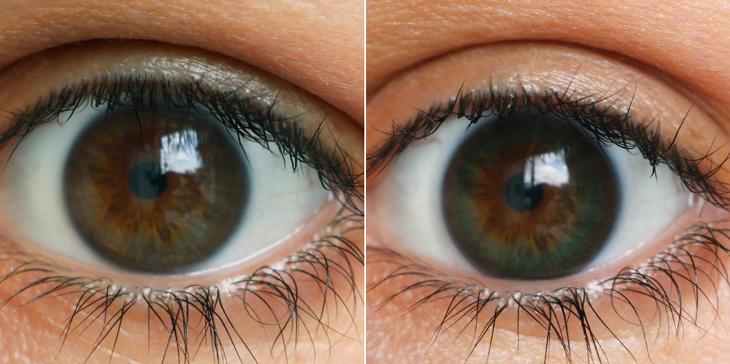 0b6efd7960c0a Testei  lentes de contato 1-Day Define Acuvue!