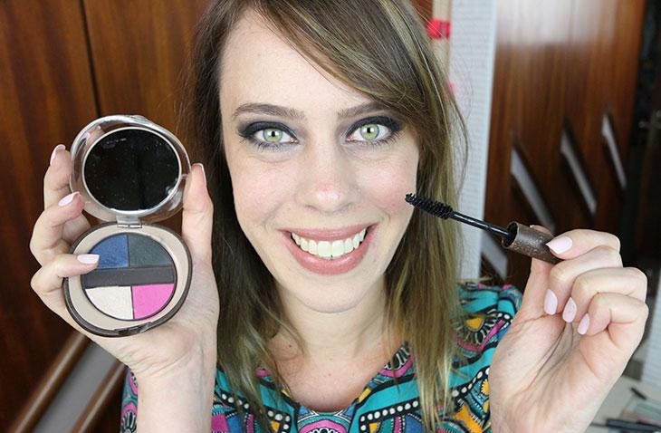 Tutorial: olhão poderoso + maquiagens com desconto no #MakeFriday