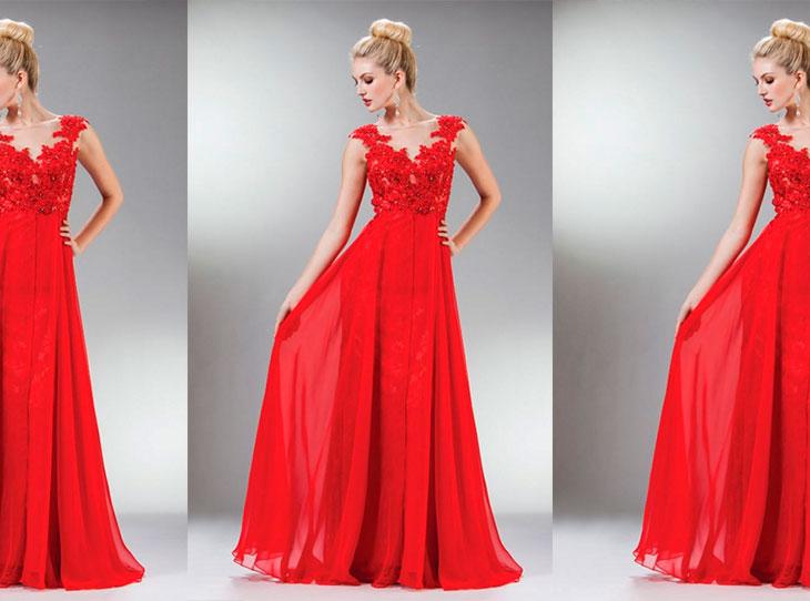 Resultado de imagem para vestido vermelho de formatura