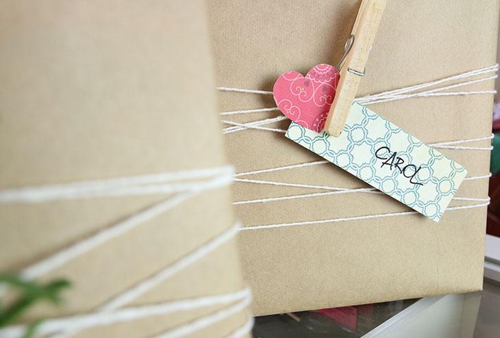 Como fazer embalagens de presentes fofas e baratas!