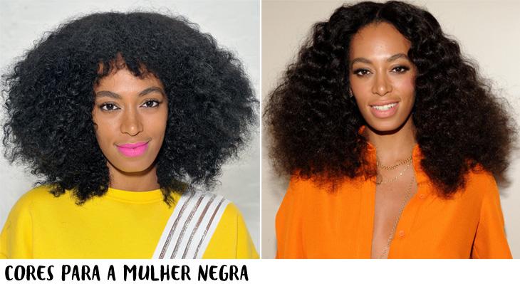 combinações entre roupa e cabelo