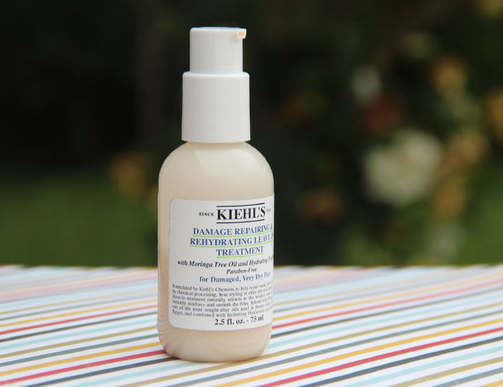 damage repairing e rehydrating leave in treatment