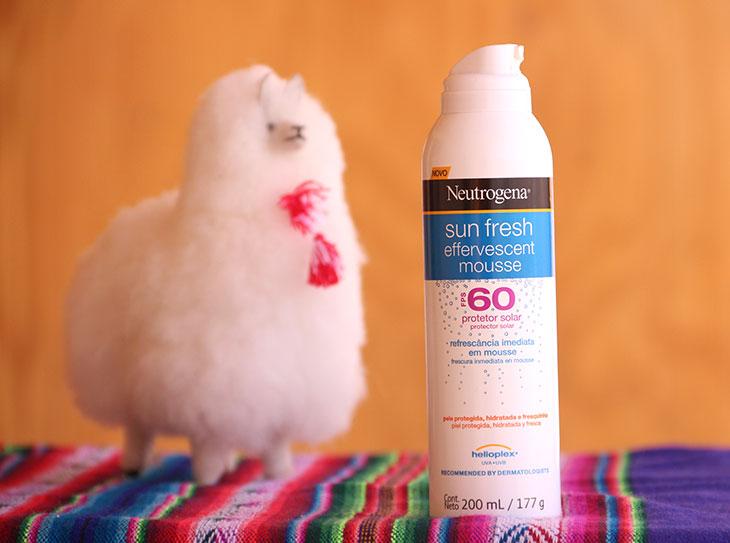 Protetor Effervescent Mousse FPS 60 Neutrogena