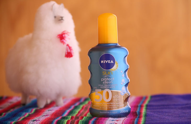 nivea sun protect e fresh