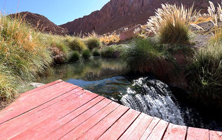 Passeios no Atacama: Termas de Puritama