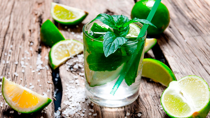Drinks com vodka: mojito