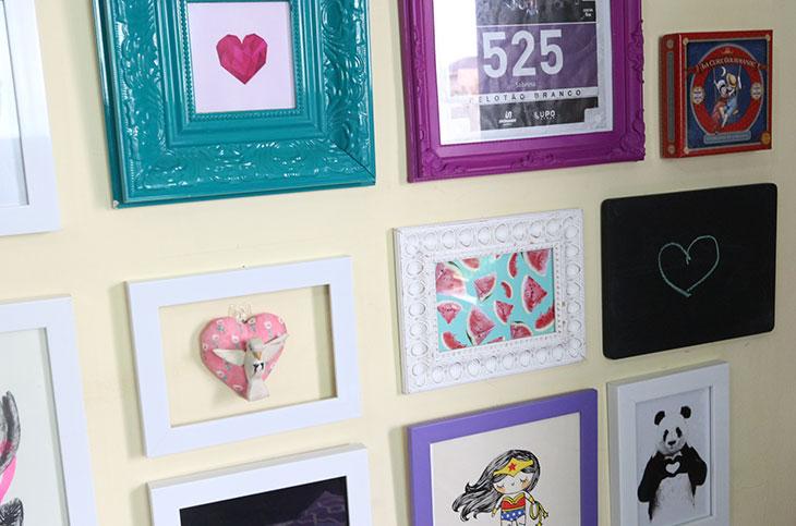 3 formas de colocar quadro na parede sem prego