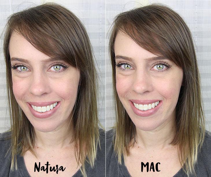 Dupe do Faux da MAC: batom Nude 2 Natura Una