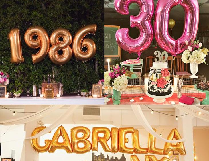 ae68592d2ea Ideias para a festa de 30 anos perfeita!