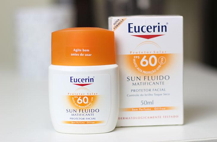 Protetor solar Sun Fluido Matificante Eucerin FPS60