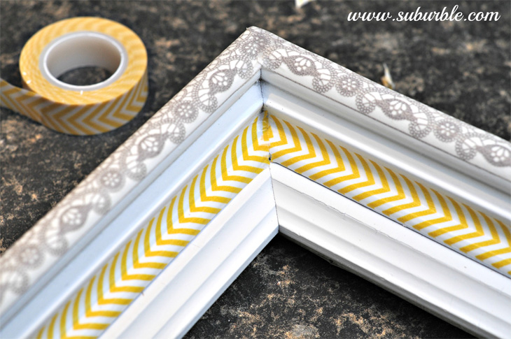 formas de usar washi tape