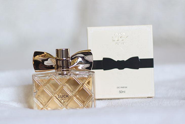 Testei: Deo Parfum Luck Avon