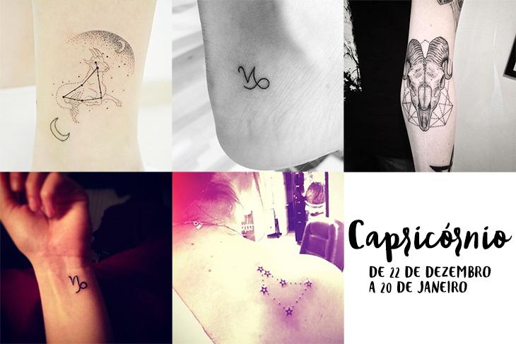 Tatuagem De Signos Inspire Se Com 60 Ideias