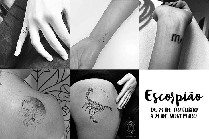 Tatuagem De Signos Inspire Se Com  Ideias