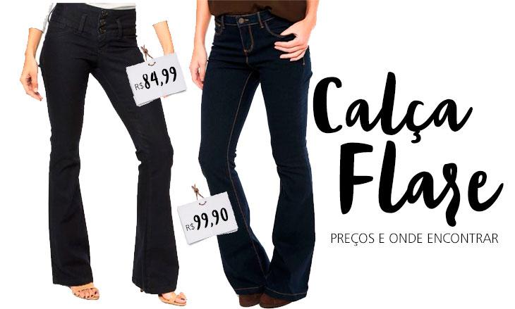 Garimpo: onde encontrar calça flare de até R$130