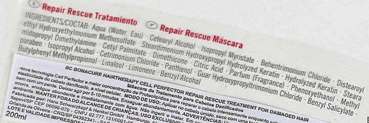 Máscara Repair Rescue Bonacure Schwarzkopf