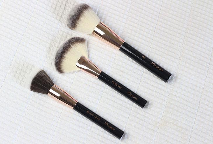 Os novos pincéis PRO de maquiagem da Natura