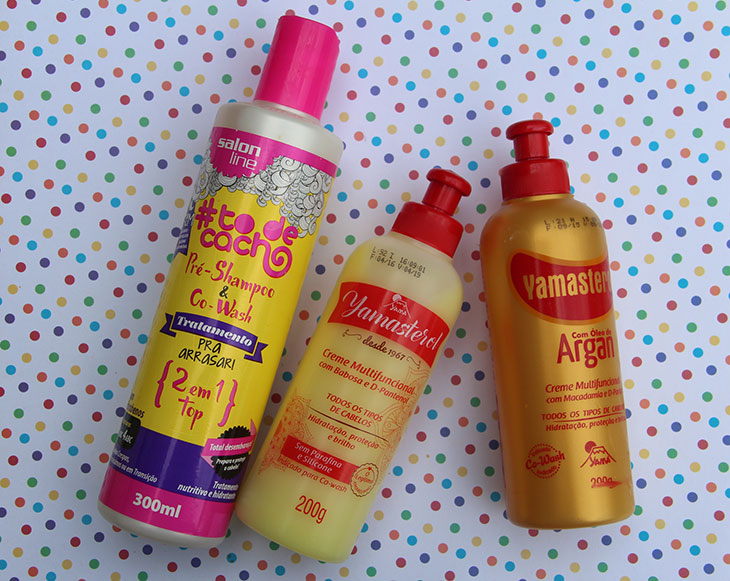 produtos para fazer co-wash