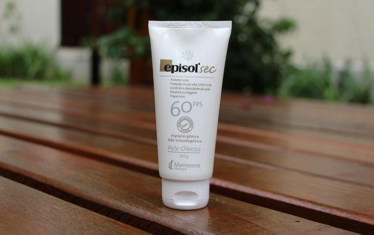 A gama de produtos da marca é bastante variada, mas um deles chama a  atenção  o Episol Sec, um protetor solar facial para uso diário que oferece  proteção ... b0b9cc03c5