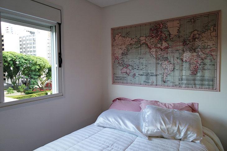 mapa de tecido