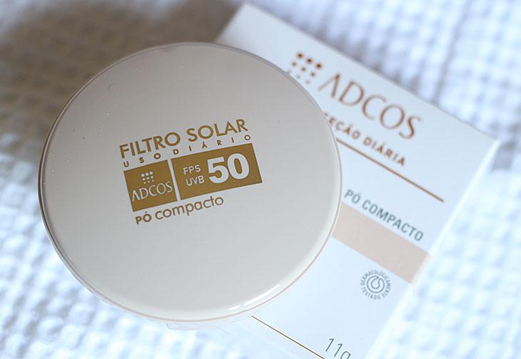 Resenha: Filtro solar em pó translúcido FPS 50 Adcos