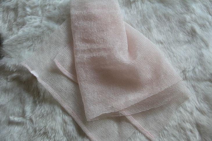 toalha esfoliante