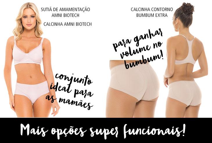 lingeries funcionais