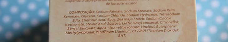 sabonete com bucha vegetal