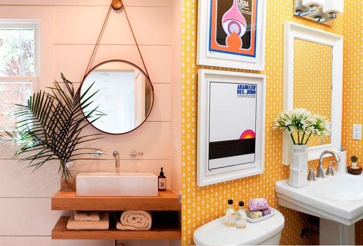 Banheiro pequeno 40 soluções lindas para aproveitar o espaço -> Obras Banheiro Pequeno