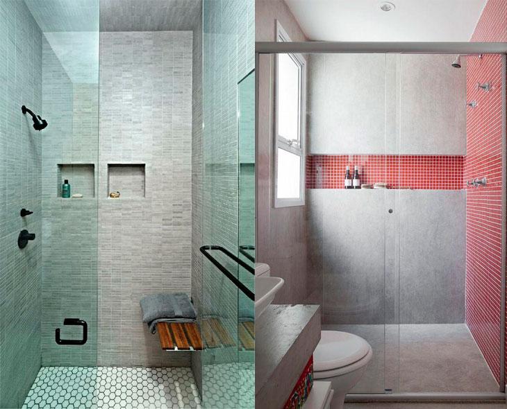 Banheiro pequeno 40 soluções lindas para aproveitar o espaço -> Banheiro Pequeno Com Canjiquinha